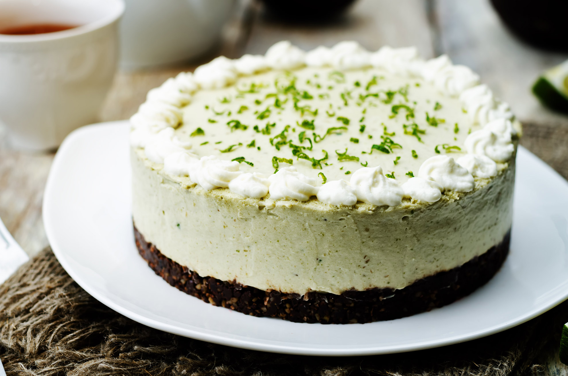 chocolate-lime-cheesecake