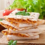 Chicken and Corn Quesadilla