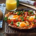 Spanish Eggs with Chorizo