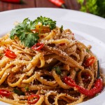 Capsicum and Chilli Linguine