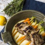Lemon and Mustard Lamb Chops with Creamy Potato Mash