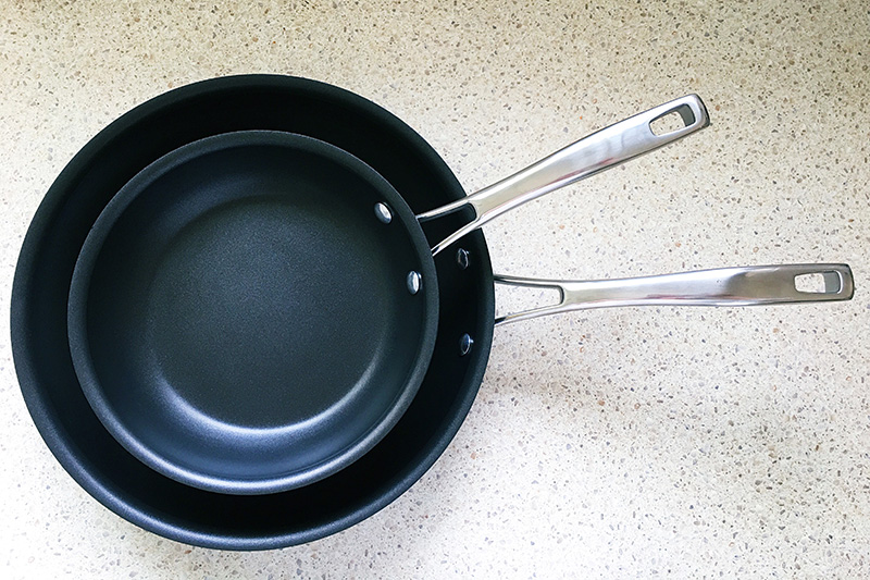 RACO Commercial Heavy Duty Non-Stick Open Skillet