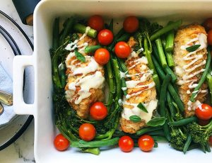 easy chicken bake dinner
