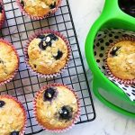 Blueberry, Yoghurt and Oat Muffins