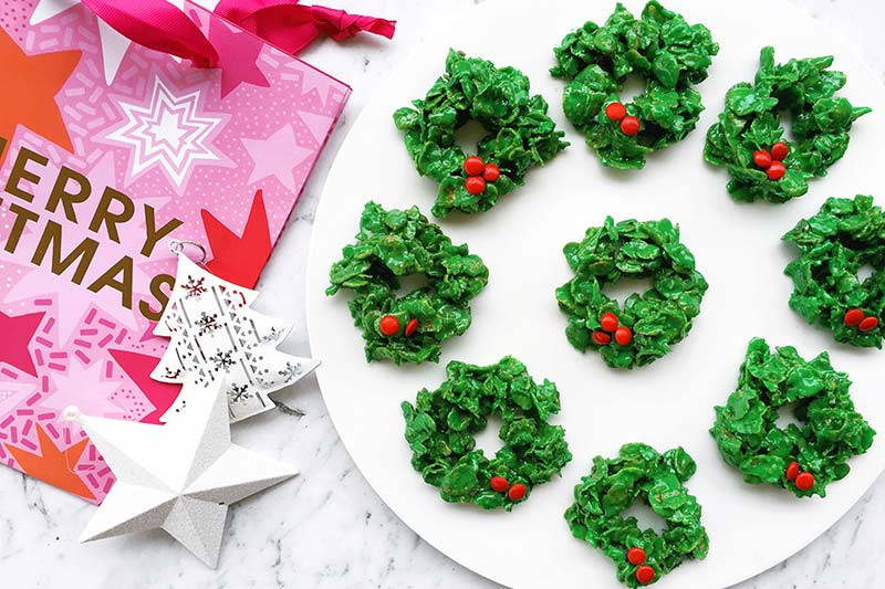 marshmallow christmas wreath recipe