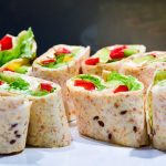 Creamy Chicken Salad Wraps
