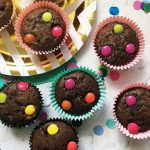 Polka Chocolate Chip Muffins