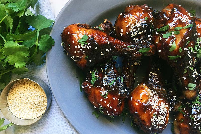 honey soy chicken drumsticks recipe