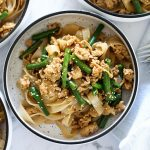 Stir Fry Chicken Rice Noodles