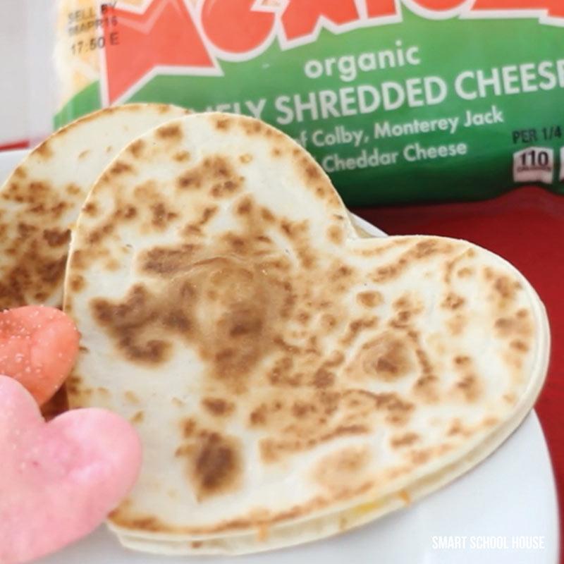 heart tortillas