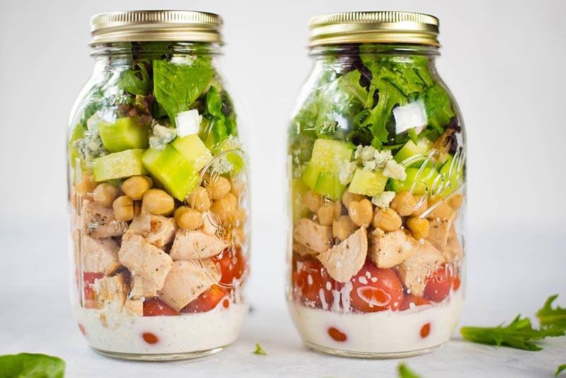 chicken salad jar