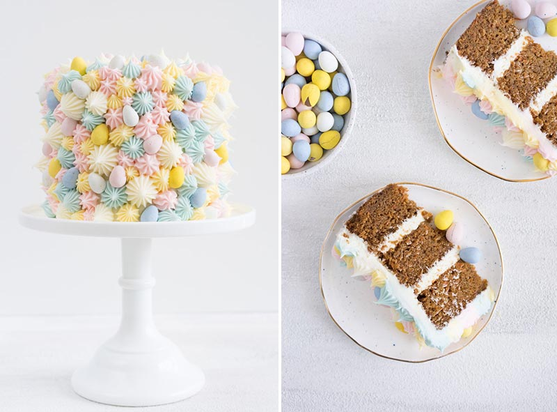 Easter, mini eggs, cake