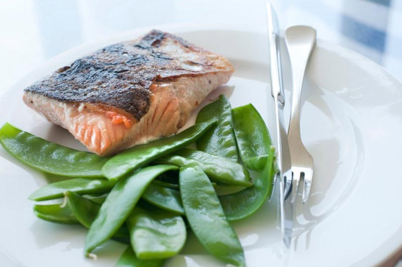 crispy skin salmon SI