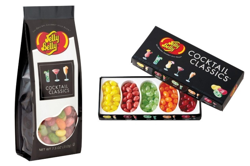 cocktail jelly beans and champagne jelly bellys