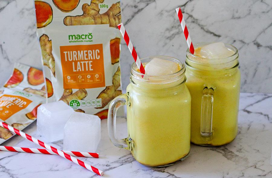 Woolworths Macro turmeric latte